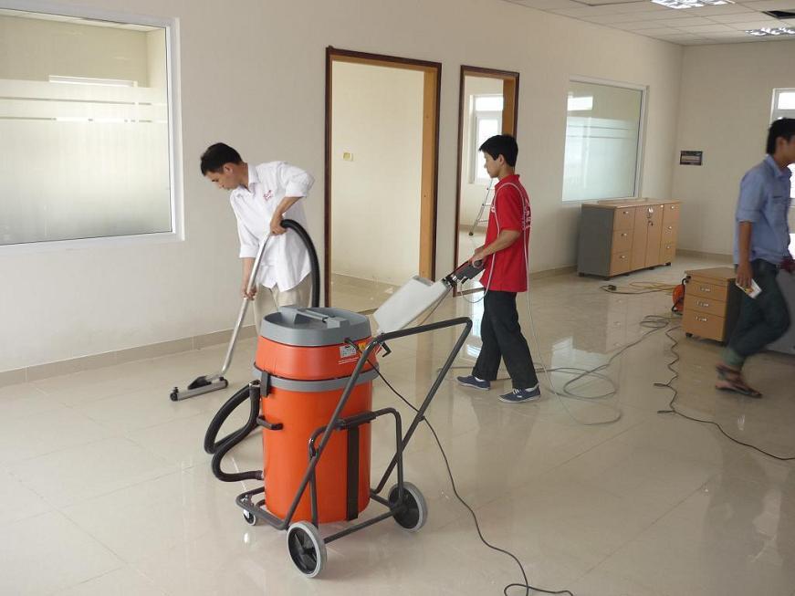 Những công việc dọn vệ sinh sau khi xây dựng