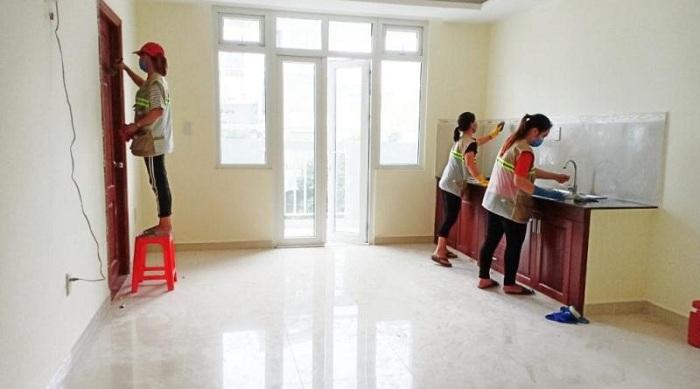 Tổng vệ sinh chi tiết các phòng