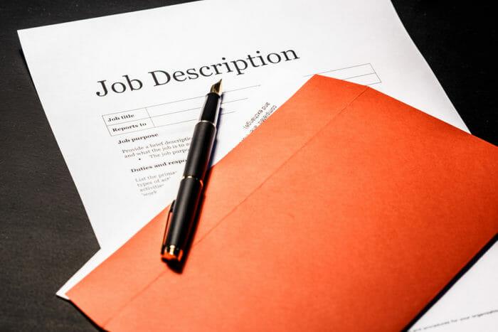 bảng mô tả công việc nhân sự