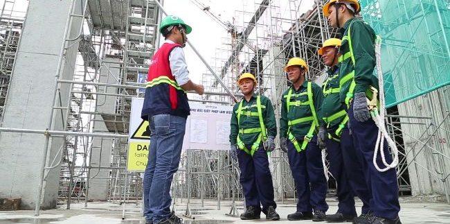 huấn luyện an toàn lao động